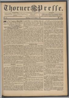 Thorner Presse 1893, Jg. XI, Nro. 25 + Beilage