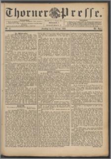 Thorner Presse 1893, Jg. XI, Nro. 31 + Beilage
