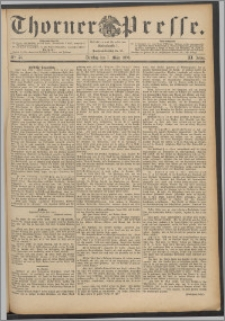 Thorner Presse 1893, Jg. XI, Nro. 56 + Beilage