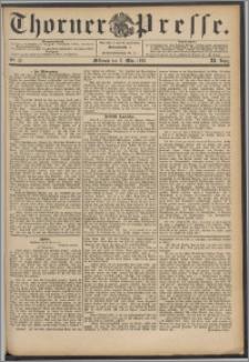 Thorner Presse 1893, Jg. XI, Nro. 57