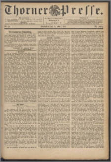 Thorner Presse 1893, Jg. XI, Nro. 72