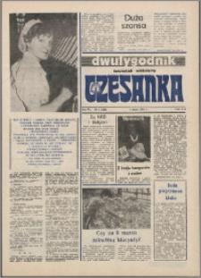 Czesanka : dwutygodnik toruńskich włókniarzy 1984, R. 6 nr 4 (129)