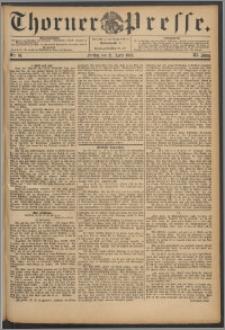 Thorner Presse 1893, Jg. XI, Nro. 93 + Beilage