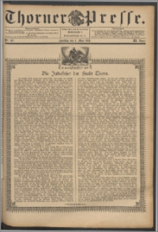 Thorner Presse 1893, Jg. XI, Nro. 107 + Beilage