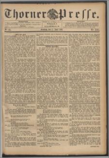Thorner Presse 1893, Jg. XI, Nro. 135 + Beilage