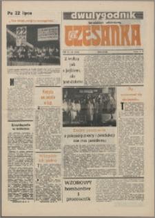 Czesanka : dwutygodnik toruńskich włókniarzy 1985, R. 7 nr 15 (165)