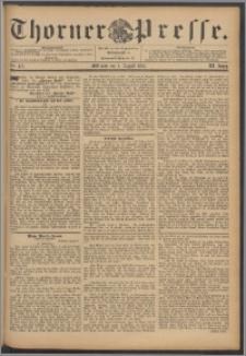 Thorner Presse 1893, Jg. XI, Nro. 179