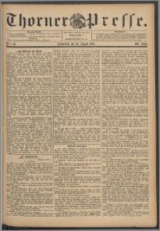 Thorner Presse 1893, Jg. XI, Nro. 194