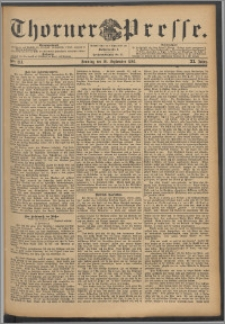 Thorner Presse 1893, Jg. XI, Nro. 213 + Beilage