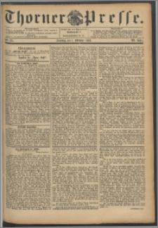 Thorner Presse 1893, Jg. XI, Nro. 231 + Beilage