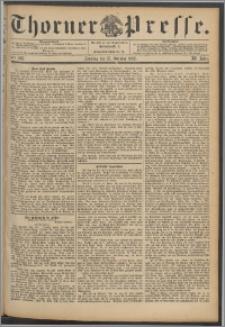 Thorner Presse 1893, Jg. XI, Nro. 243 + Beilage