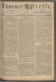 Thorner Presse 1893, Jg. XI, Nro. 265