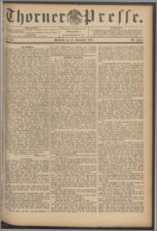 Thorner Presse 1893, Jg. XI, Nro. 269