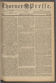 Thorner Presse 1893, Jg. XI, Nro. 274