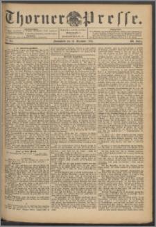Thorner Presse 1893, Jg. XI, Nro. 301 + Beilage