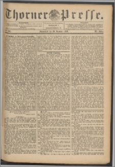Thorner Presse 1893, Jg. XI, Nro. 305