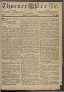 Thorner Presse 1894, Jg. XII, Nro. 1