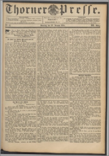 Thorner Presse 1894, Jg. XII, Nro. 23 + Beilage