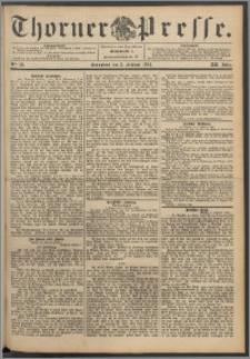Thorner Presse 1894, Jg. XII, Nro. 28