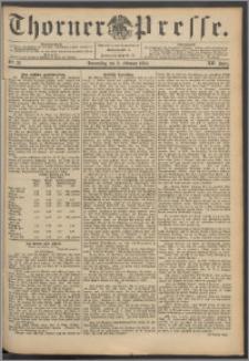 Thorner Presse 1894, Jg. XII, Nro. 32 + Beilage