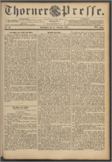 Thorner Presse 1894, Jg. XII, Nro. 40