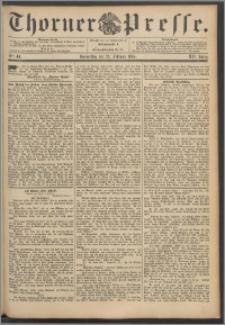 Thorner Presse 1894, Jg. XII, Nro. 44 + Beilage