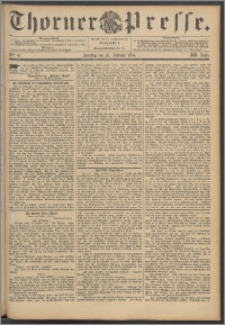 Thorner Presse 1894, Jg. XII, Nro. 47 + Beilage