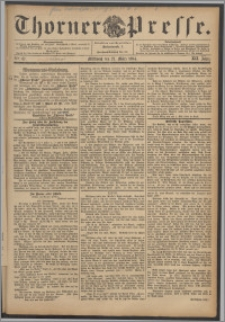 Thorner Presse 1894, Jg. XII, Nro. 67