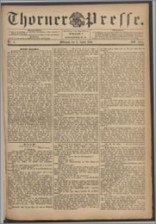 Thorner Presse 1894, Jg. XII, Nro. 77 + Beilage