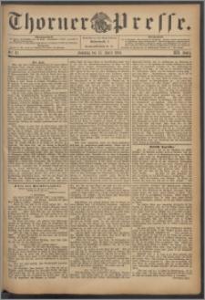 Thorner Presse 1894, Jg. XII, Nro. 87 + Beilage