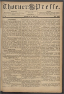Thorner Presse 1894, Jg. XII, Nro. 89