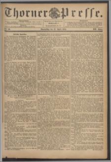 Thorner Presse 1894, Jg. XII, Nro. 90 + Beilage