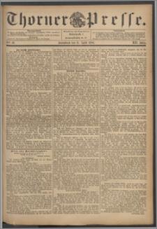 Thorner Presse 1894, Jg. XII, Nro. 92