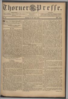 Thorner Presse 1894, Jg. XII, Nro. 99 + Beilage