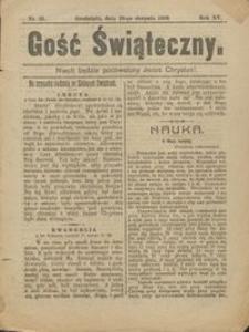 Gość Świąteczny 1909.08.29 R. XV nr 35