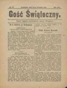 Gość Świąteczny 1910.04.24 R. XVI nr 17