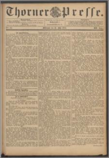Thorner Presse 1894, Jg. XII, Nro. 117 + Beilage