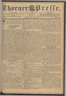 Thorner Presse 1894, Jg. XII, Nro. 121 + Beilage