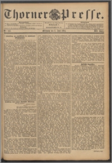 Thorner Presse 1894, Jg. XII, Nro. 129 + Beilage