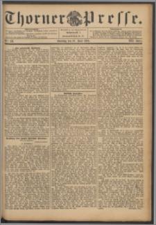 Thorner Presse 1894, Jg. XII, Nro. 133 + Beilage