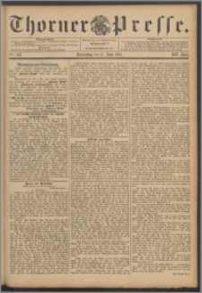 Thorner Presse 1894, Jg. XII, Nro. 142