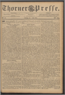 Thorner Presse 1894, Jg. XII, Nro. 151 + Beilage