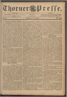 Thorner Presse 1894, Jg. XII, Nro. 157 + Beilage