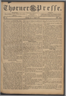 Thorner Presse 1894, Jg. XII, Nro. 181 + Beilage