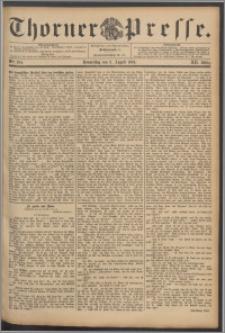 Thorner Presse 1894, Jg. XII, Nro. 184
