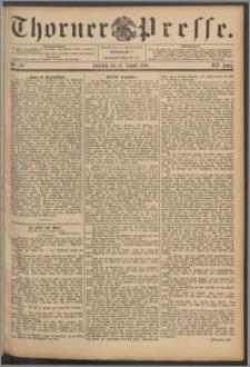 Thorner Presse 1894, Jg. XII, Nro. 187 + Beilage