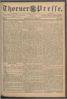 Thorner Presse 1894, Jg. XII, Nro. 190
