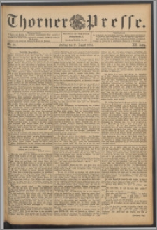 Thorner Presse 1894, Jg. XII, Nro. 191
