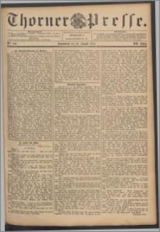 Thorner Presse 1894, Jg. XII, Nro. 192