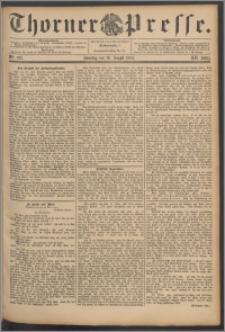 Thorner Presse 1894, Jg. XII, Nro. 193 + Beilage